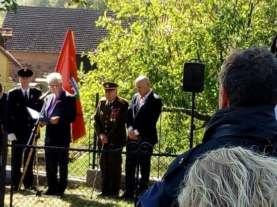 Fota z oslav 100 let republiky ve Střezimíři