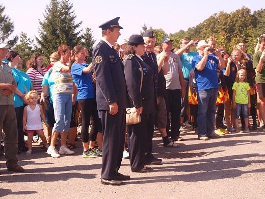 Fota z oslav 120.výročí založení SDH Střezimíř