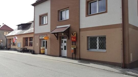 Obchodní prostory v centru obce k pronájmu