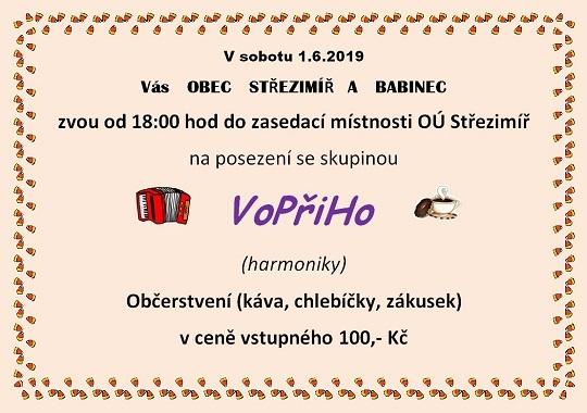 Pozvánka na harmoniky VoPřiHo 1.6.2019