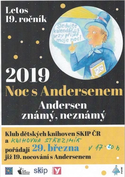 """Pozvánka na """"Noc s Andersenem"""""""