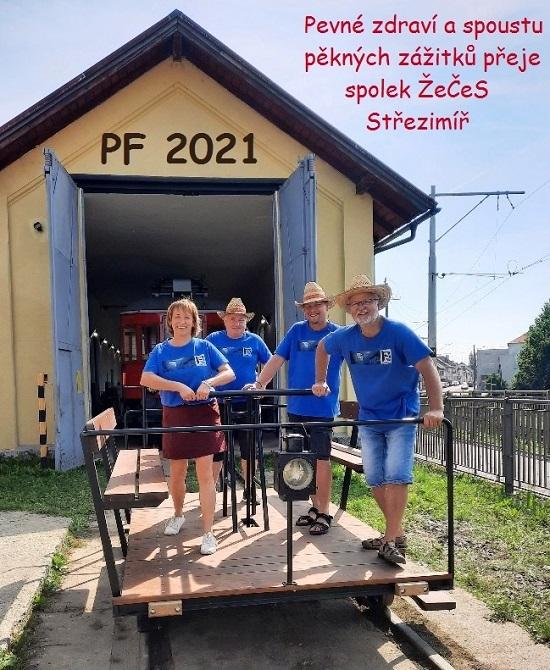 PF 2021 spolku Železnice Česká Sibiř